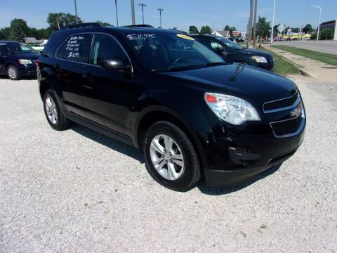 2015 Chevrolet Equinox for sale at Marty Hart's Auto Sales in Sturgis MI