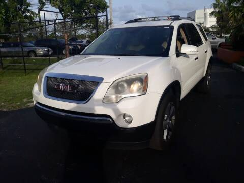 2011 GMC Acadia for sale at LAND & SEA BROKERS INC in Deerfield FL