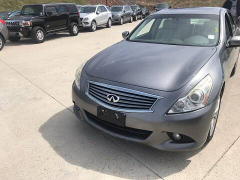 2011 Infiniti G37 Sedan for sale at Best Cars R Us LLC in Irvington NJ