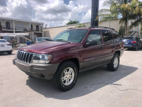 2003 Jeep Grand Cherokee for sale at Florida Cool Cars in Fort Lauderdale FL