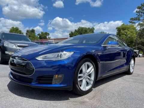2015 Tesla Model S for sale at Upfront Automotive Group in Debary FL