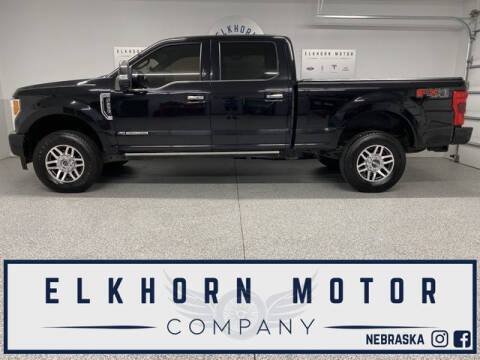 2018 Ford F-250 Super Duty for sale at Elkhorn Motor Company in Waterloo NE