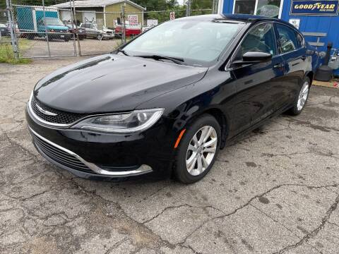 2015 Chrysler 200 for sale at CHUCKS AUTO SERVICE LLC in Sturgis MI