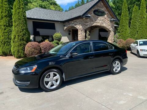 2013 Volkswagen Passat for sale at Hoyle Auto Sales in Taylorsville NC