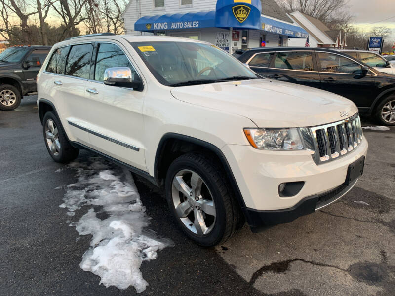 2012 Jeep Grand Cherokee for sale at King Auto Sales in Leominster MA