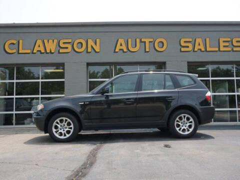 2004 BMW X3 for sale at Clawson Auto Sales in Clawson MI