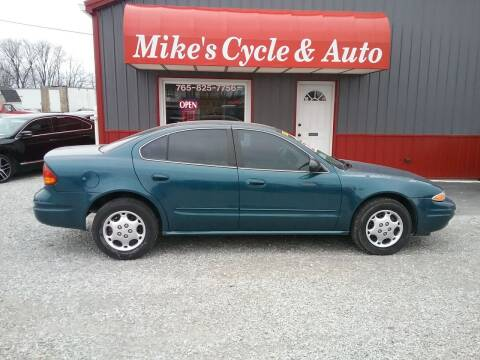 2003 Oldsmobile Alero for sale at MIKE'S CYCLE & AUTO in Connersville IN