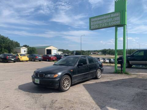 2004 BMW 3 Series for sale at Independent Auto in Belle Fourche SD