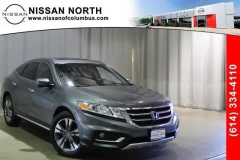 2013 Honda Crosstour for sale at Auto Center of Columbus in Columbus OH