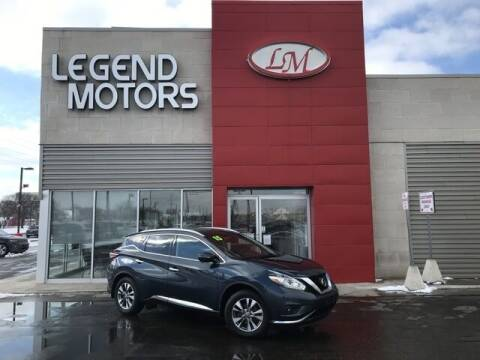 2015 Nissan Murano for sale at Legend Motors of Detroit - Legend Motors of Ferndale in Ferndale MI