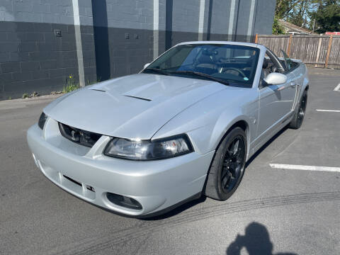 2004 Ford Mustang SVT Cobra for sale at APX Auto Brokers in Lynnwood WA