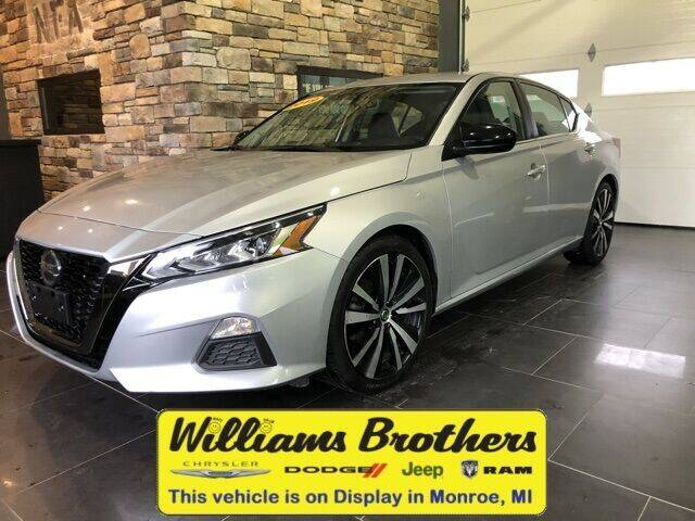 2019 Nissan Altima for sale at Williams Brothers - Pre-Owned Monroe in Monroe MI