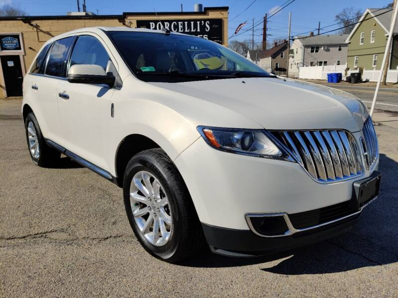 2012 Lincoln MKX for sale at Porcelli Auto Sales in West Warwick RI