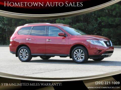2016 Nissan Pathfinder for sale at Hometown Auto Sales - SUVS in Jasper AL