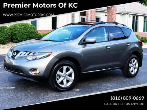 2010 Nissan Murano for sale at Premier Motors of KC in Kansas City MO