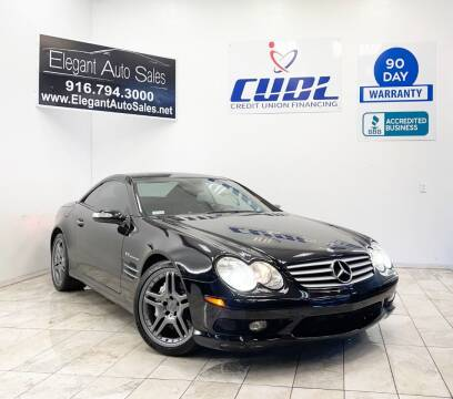 2006 Mercedes-Benz SL-Class for sale at Elegant Auto Sales in Rancho Cordova CA