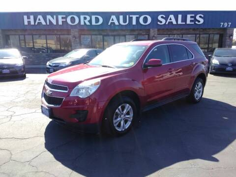 2013 Chevrolet Equinox for sale at Hanford Auto Sales in Hanford CA