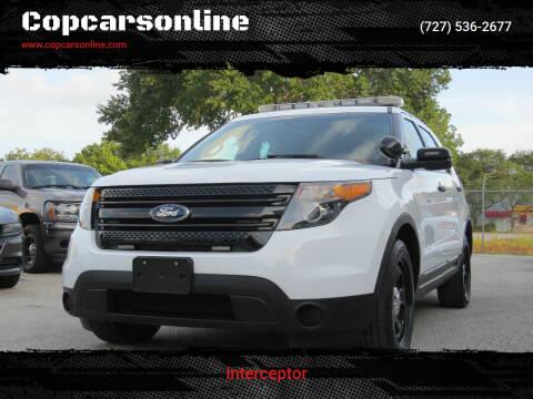 2014 Ford Explorer for sale at Copcarsonline in Largo FL