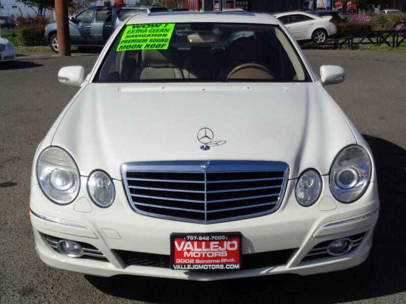 2008 Mercedes-Benz E-Class for sale at Vallejo Motors in Vallejo CA