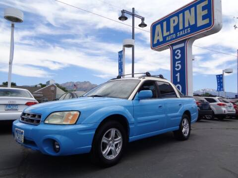 2004 Subaru Baja for sale at Alpine Auto Sales in Salt Lake City UT