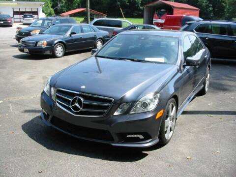 2010 Mercedes-Benz E-Class for sale at Southern Used Cars in Dobson NC