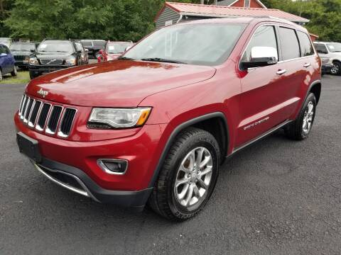 2014 Jeep Grand Cherokee for sale at Arcia Services LLC in Chittenango NY