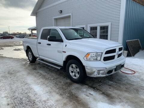 2017 RAM Ram Pickup 1500 for sale at M&A Auto in Newport VT