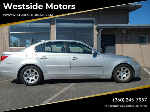 2004 BMW 5 Series for sale at Westside Motors in Mount Vernon WA
