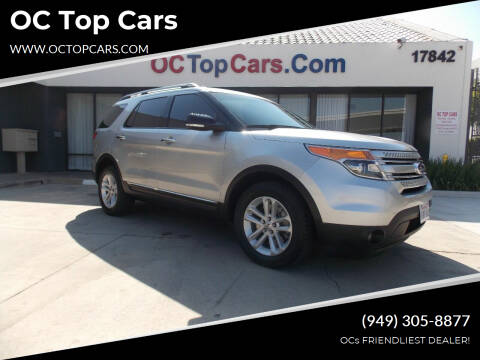 2013 Ford Explorer for sale at OC Top Cars in Irvine CA