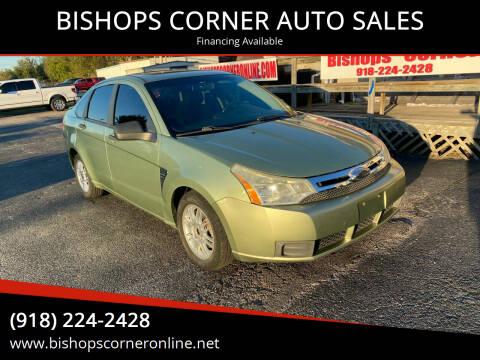 2008 Ford Focus for sale at BISHOPS CORNER AUTO SALES in Sapulpa OK