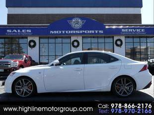 2016 Lexus IS 300 for sale at Highline Group Motorsports in Lowell MA