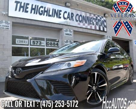 2020 Toyota Camry for sale at The Highline Car Connection in Waterbury CT