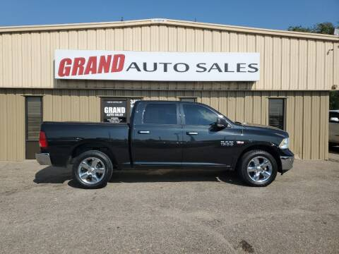 2016 RAM Ram Pickup 1500 for sale at GRAND AUTO SALES in Grand Island NE
