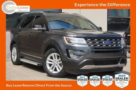 2017 Ford Explorer for sale at Dallas Auto Finance in Dallas TX