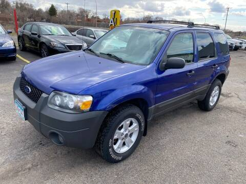 2005 Ford Escape for sale at Auto Tech Car Sales and Leasing in Saint Paul MN