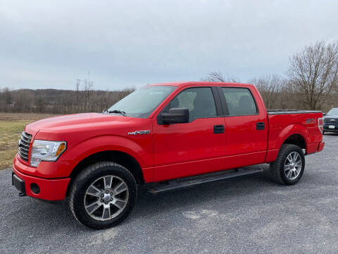 2014 Ford F-150 for sale at Riverside Motors in Glenfield NY