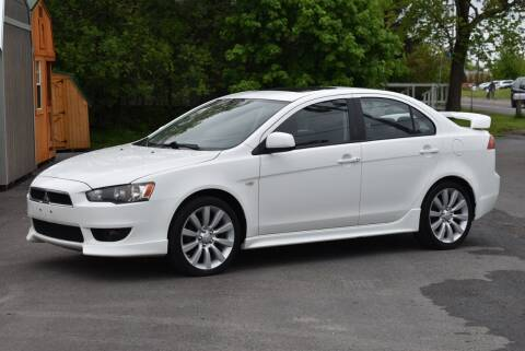 2008 Mitsubishi Lancer for sale at GREENPORT AUTO in Hudson NY