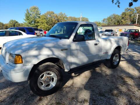 2003 Ford Ranger for sale at Moulder's Auto Sales in Macks Creek MO