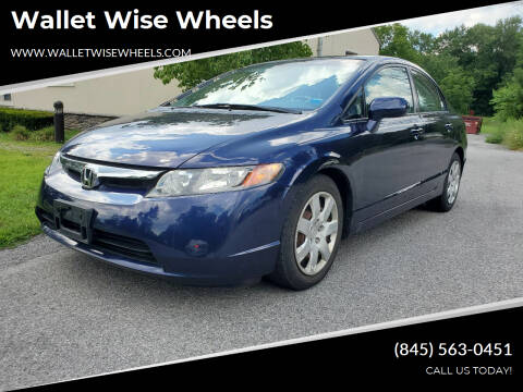 2008 Honda Civic for sale at Wallet Wise Wheels in Montgomery NY