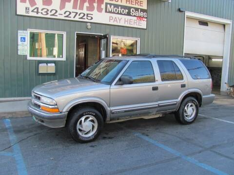 2001 Chevrolet Blazer for sale at R's First Motor Sales Inc in Cambridge OH