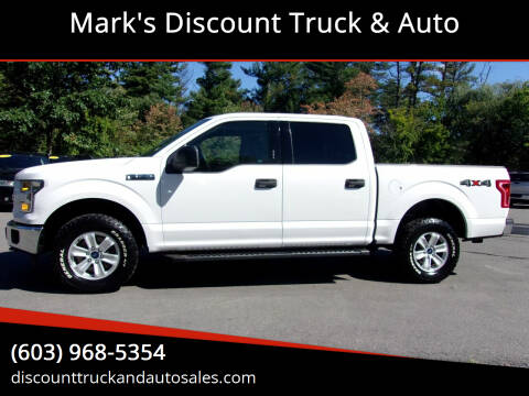 2017 Ford F-150 for sale at Mark's Discount Truck & Auto in Londonderry NH