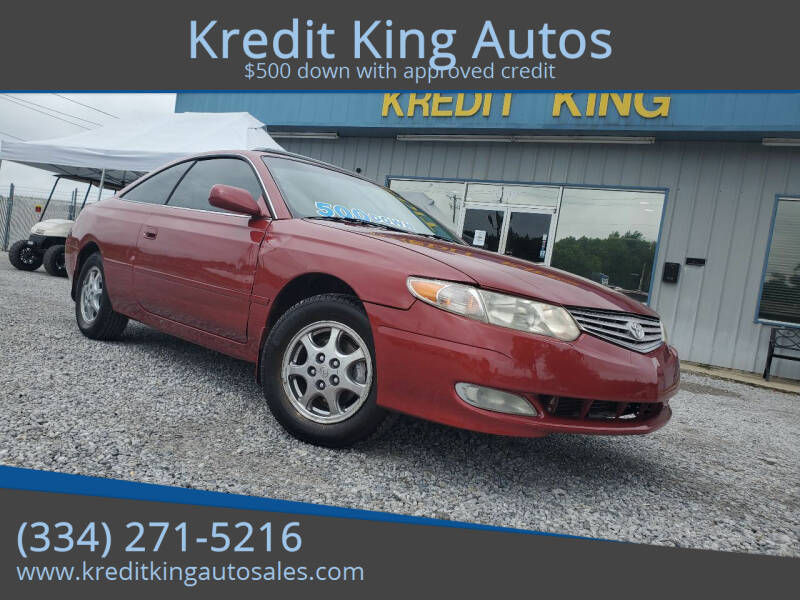 2002 Toyota Camry Solara for sale at Kredit King Autos in Montgomery AL
