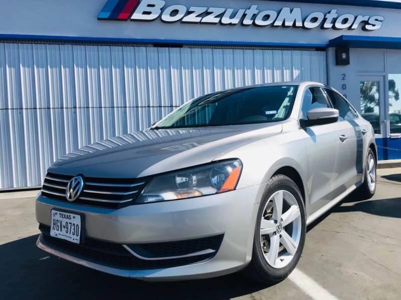 2013 Volkswagen Passat for sale at Bozzuto Motors in San Diego CA