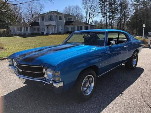 1971 Chevrolet Chevelle Malibu for sale at Island Motor Cars in Nesconset NY