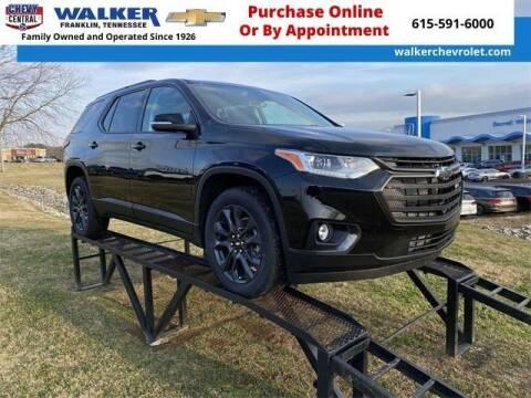2021 Chevrolet Traverse for sale at WALKER CHEVROLET in Franklin TN