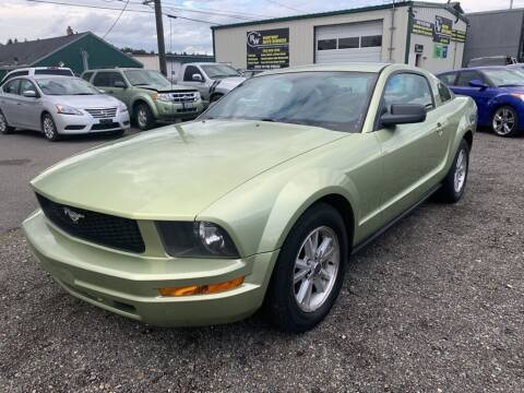 2006 Ford Mustang for sale at TacomaAutoLoans.com in Tacoma WA