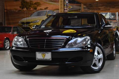 2004 Mercedes-Benz S-Class for sale at Chicago Cars US in Summit IL