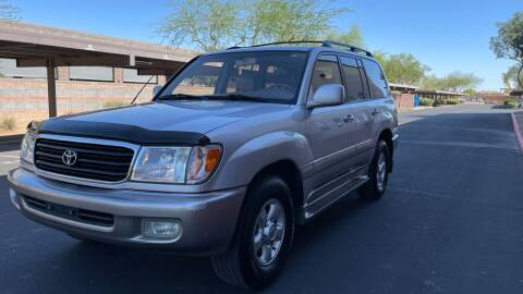 2000 Toyota Land Cruiser for sale at Autodealz in Tempe AZ