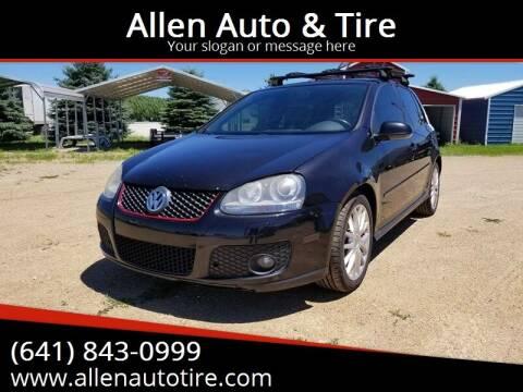 2007 Volkswagen GTI for sale at Allen Auto & Tire in Britt IA