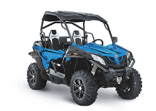 2021 CF Moto Z 800 Trail blue for sale at Power Edge Motorsports- Millers Economy Auto in Redmond OR